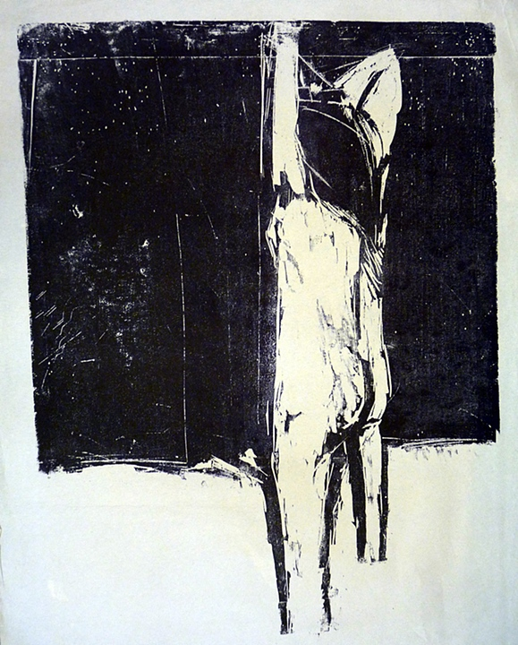 Figure Near Water (1962)