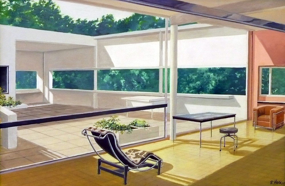 Villa Savoy by Le Corbusier (2004)