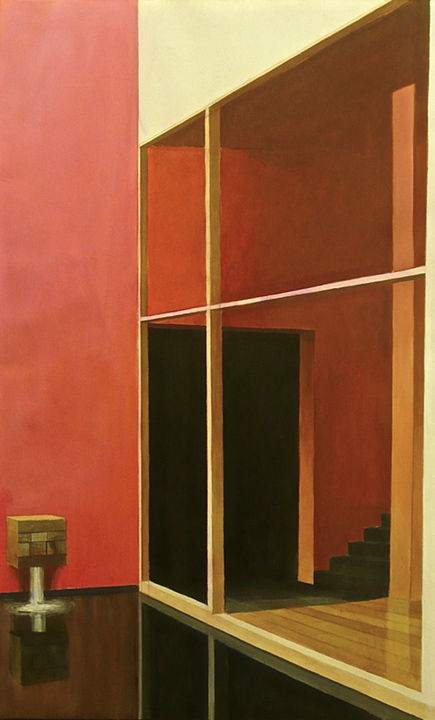 Mexico City Interior 2 by Luis Barragan (2007)