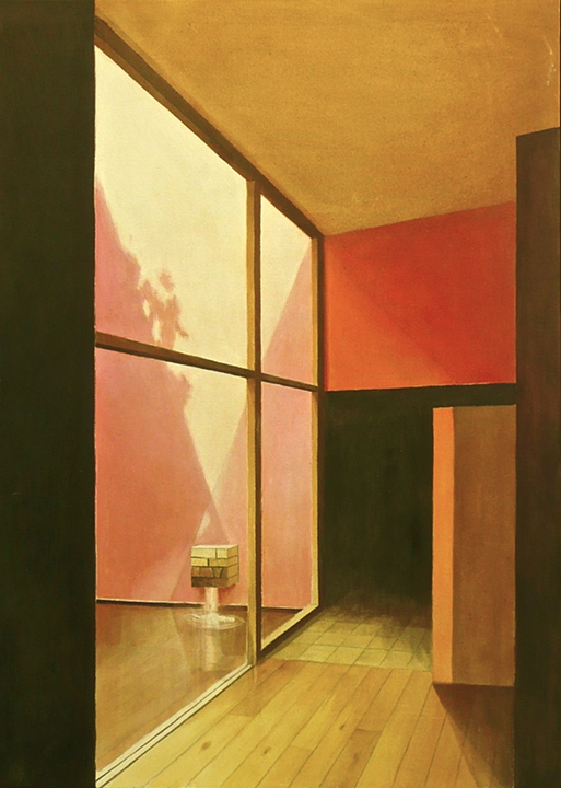 Mexico City Interior 1 by Luis Barragan (2007)