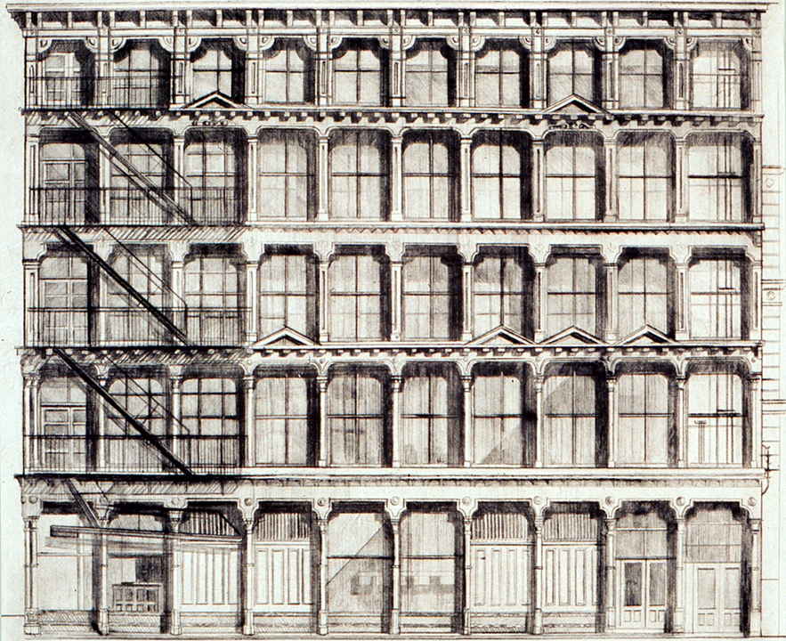 Donald Judd's Building (Second State), New York City (1970)