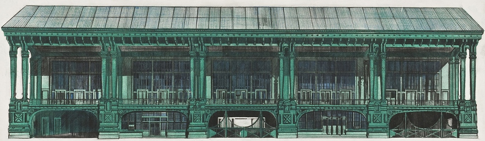 Old Staten Island Ferry Building (1972)