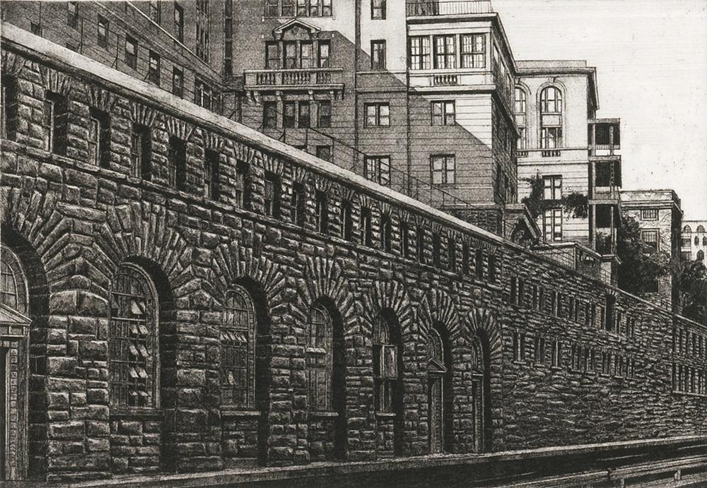 Rockefeller University, FDR Drive (1974)