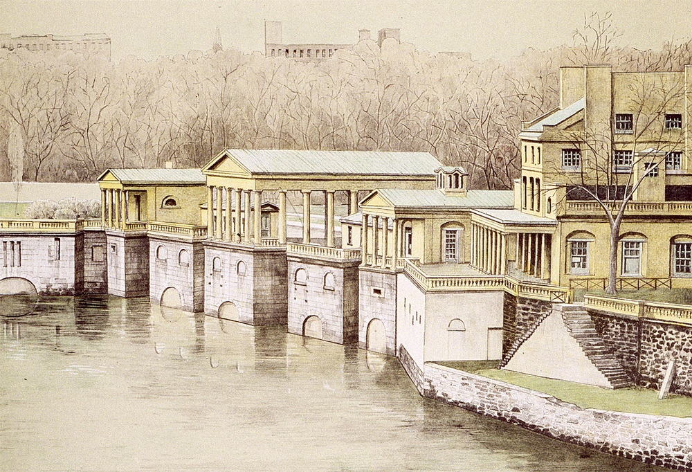 Old Waterworks, Philadelphia (1977)