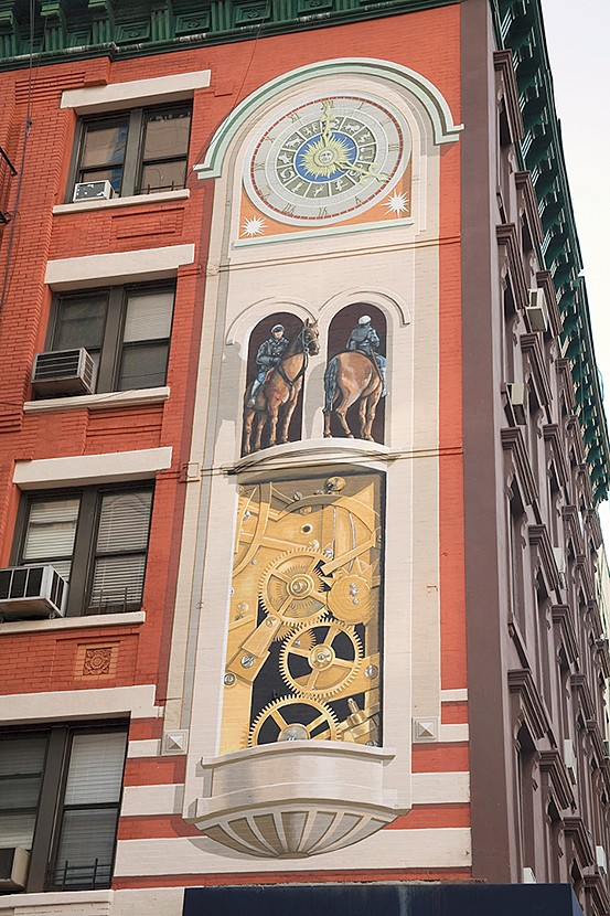 Glockenspiel Mural for Yorkville New York, NY. (2005)