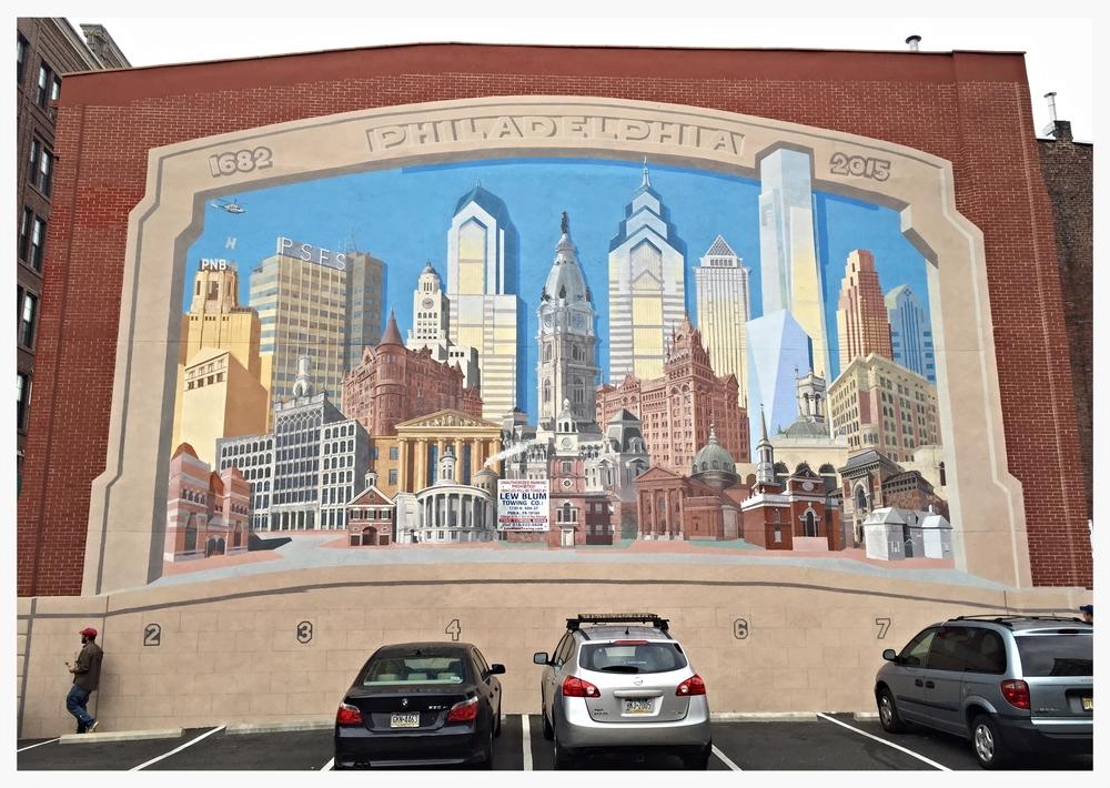 Philadelphia 1682 - 2015 Mural , Philadelphia, Pennsylvania