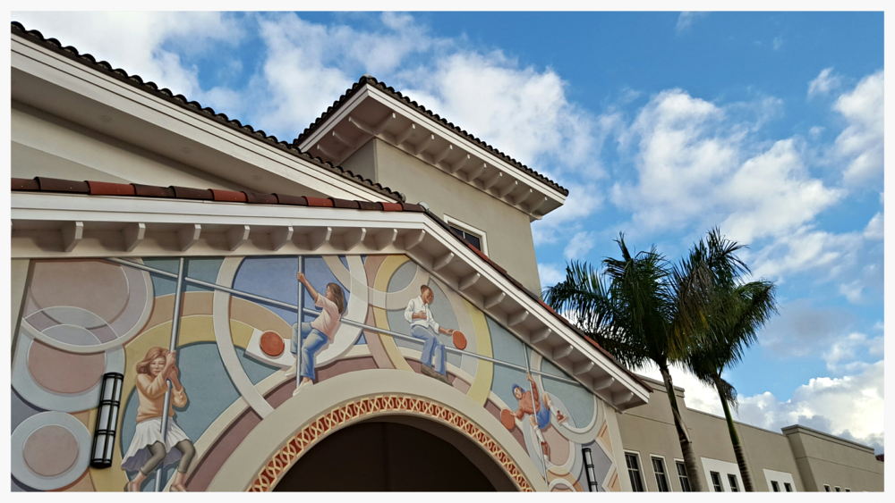 Details, Doral Charter Elementary School Mural, Doral, Florida_Richard Haas, Inc._2015