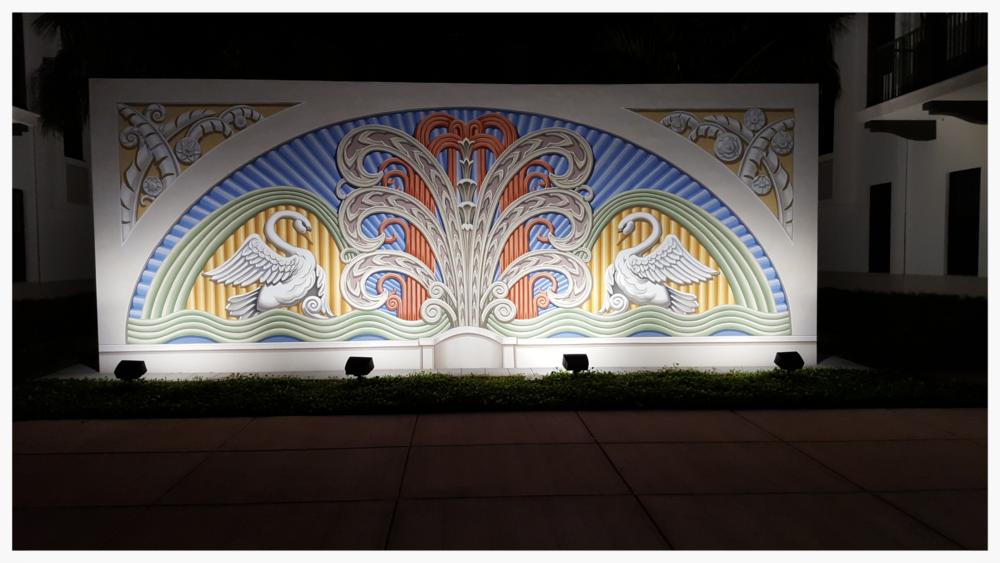 Detail 4, Doral Charter Elementary School Mural, Doral, Florida_Richard Haas, Inc._2015