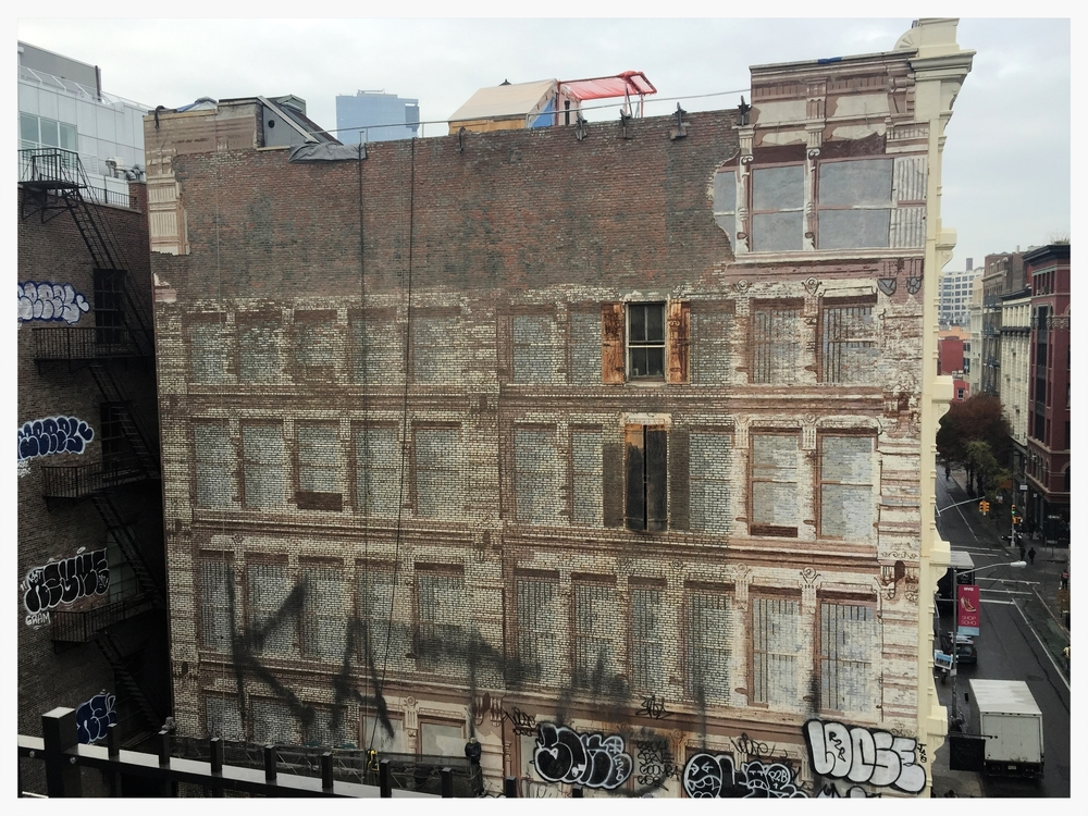 112 Prince Street Mural_current condition 2015_richard haas nyc