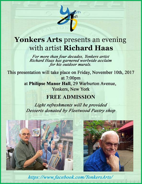 Yonkers Art presents an evening with artist Richard Haas.jpg