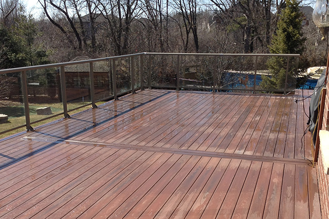 A lovely deck by Burloak can be the biggest living space in your home.