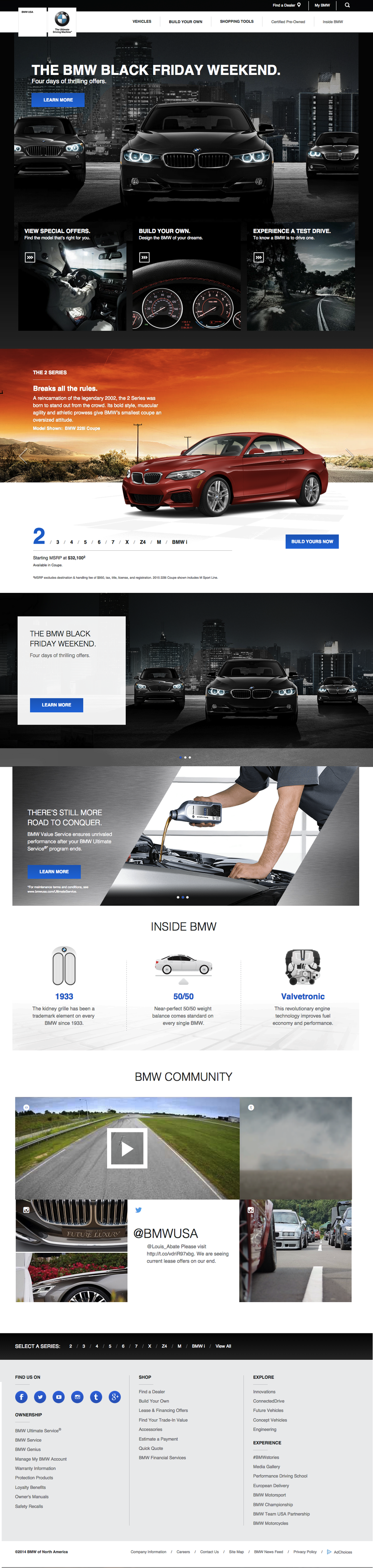 The BMWUSA Homepage