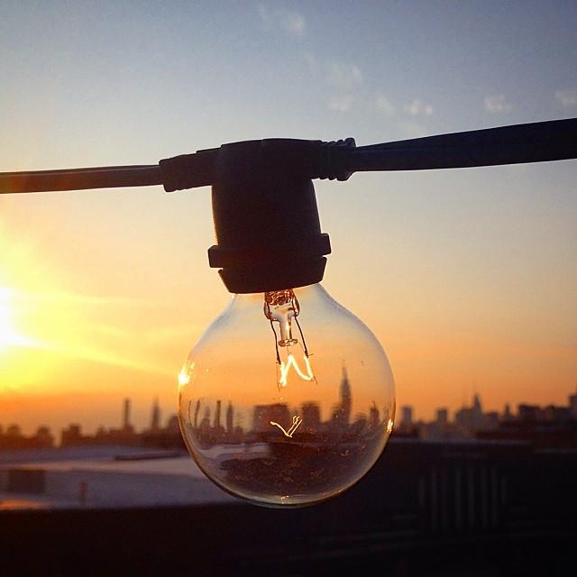 #sunset in #Brooklyn.
