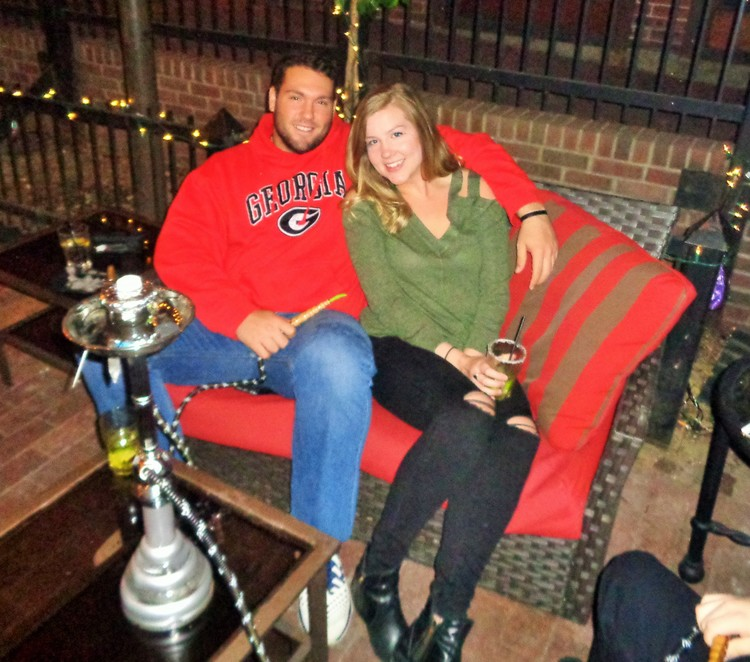 hooka couple outside.jpg