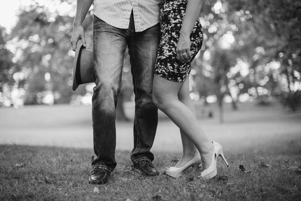 morgans park engagement session