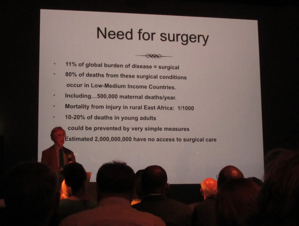 Essential Surgery put forward by ICES's Dr Michael Cotton