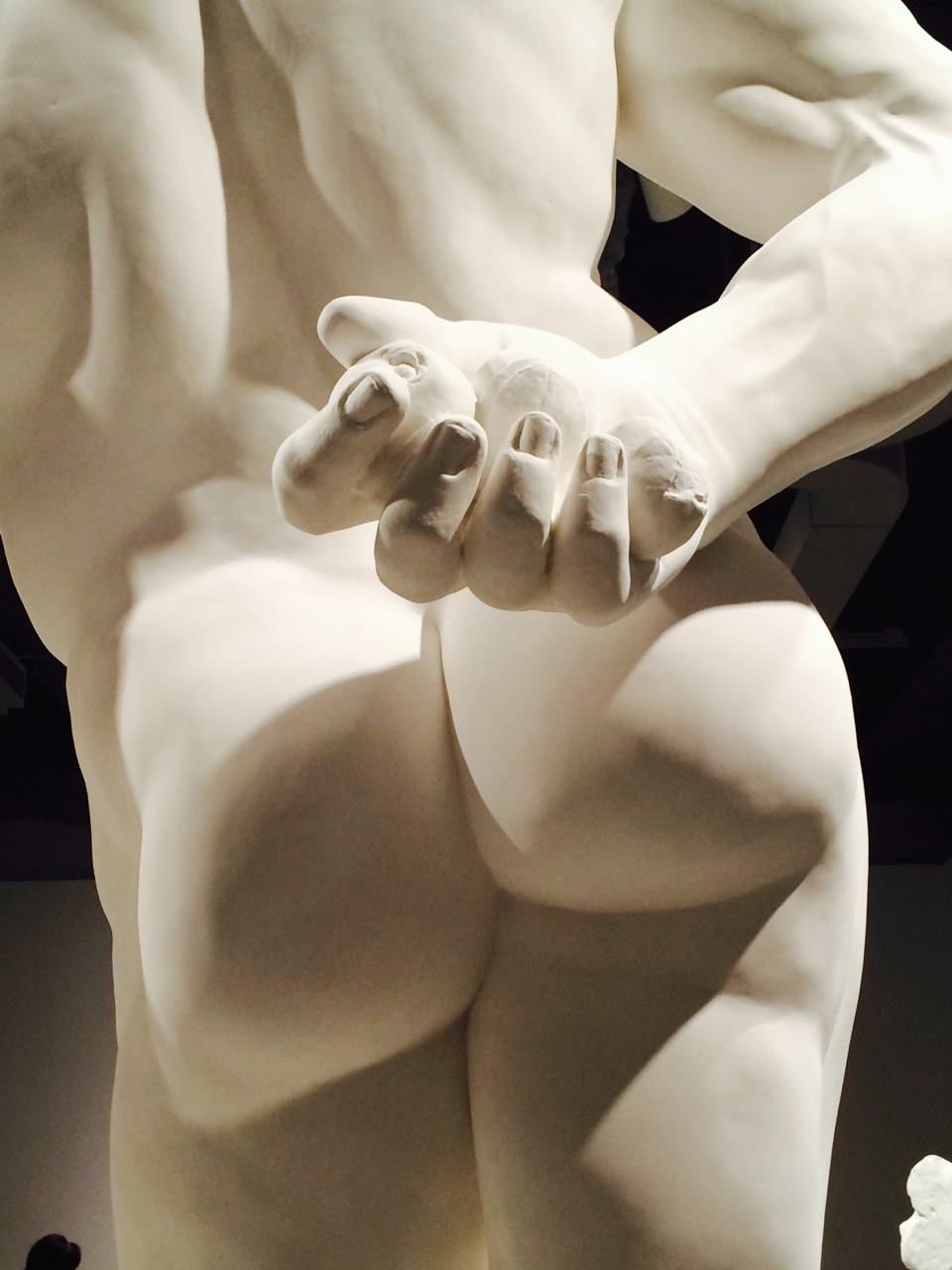 Jeff Koons Gazing Ball (Farnese Hercules) (Plaster and Glass)