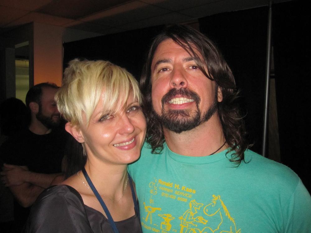 Barbie Brady & Dave Grohl