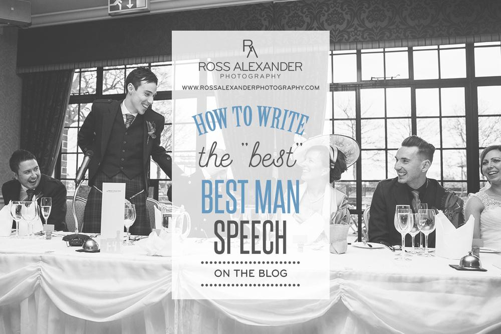 Write best man speech