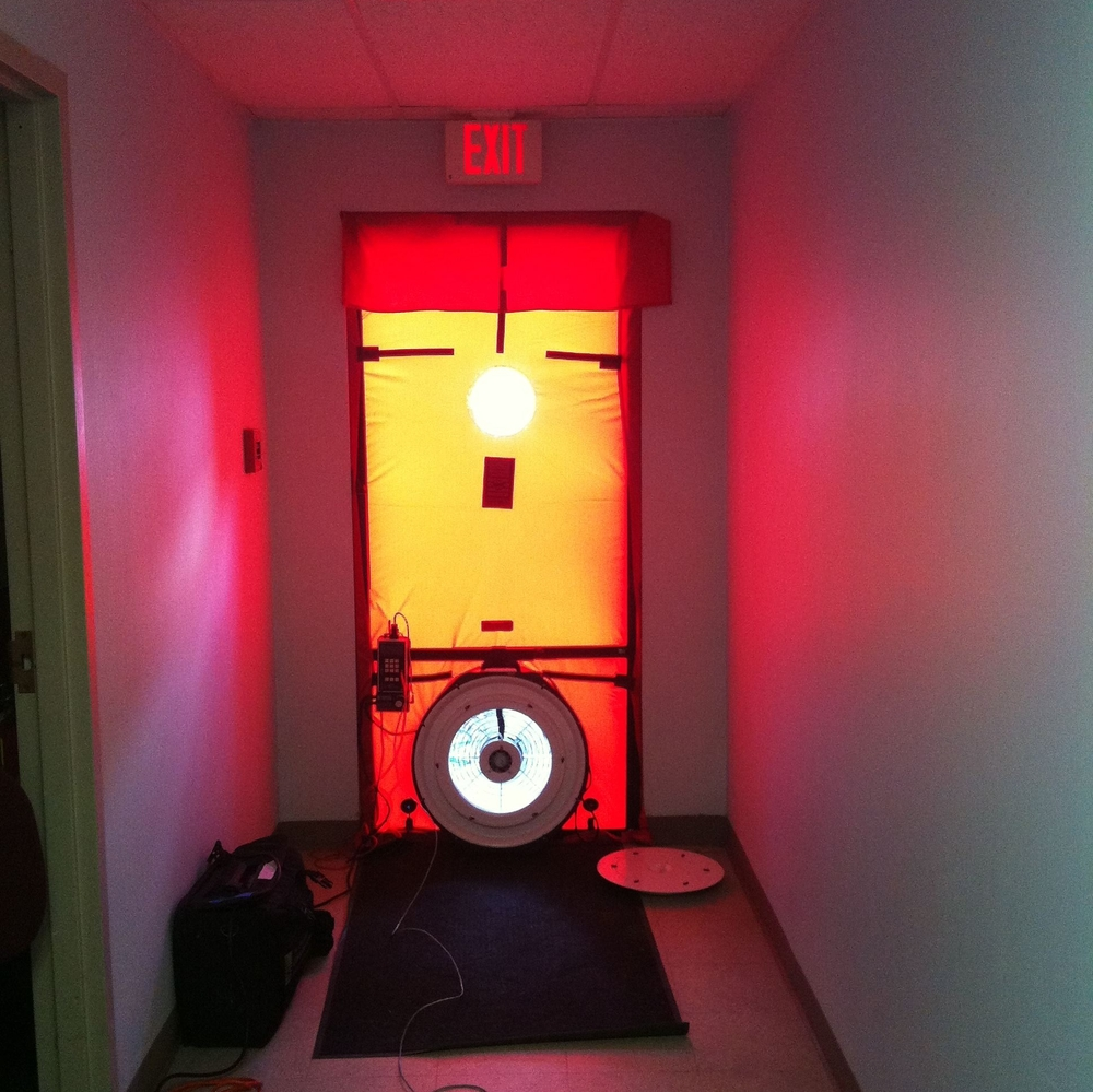 Blower Door Test Energia
