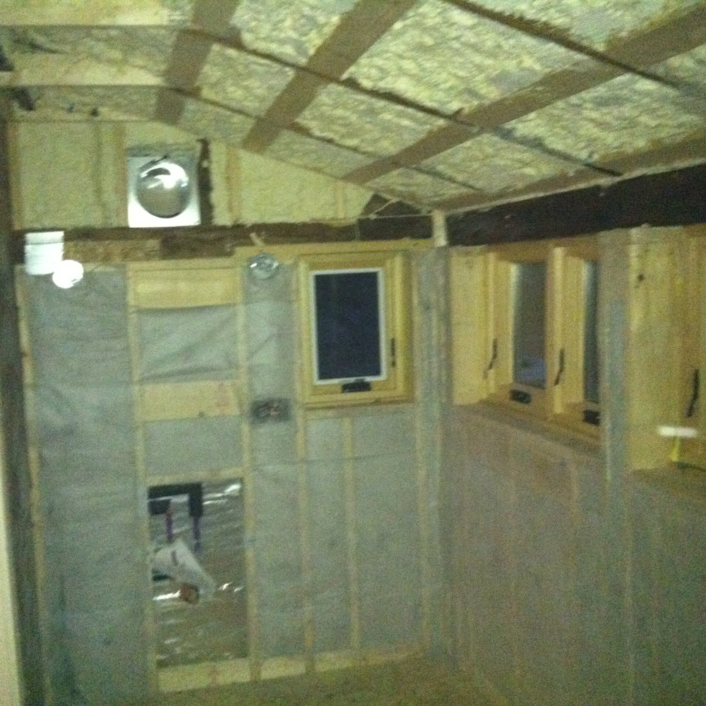 Cellulose and Spray Foam Insulation