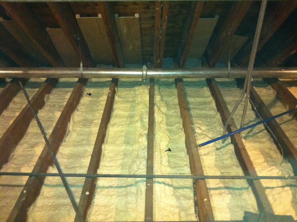 Post Vacuum Spray Foam Insulation Energia