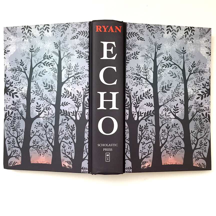 Echo novel by Pam Munoz Ryan illustrated by Dinara Mirtalipova