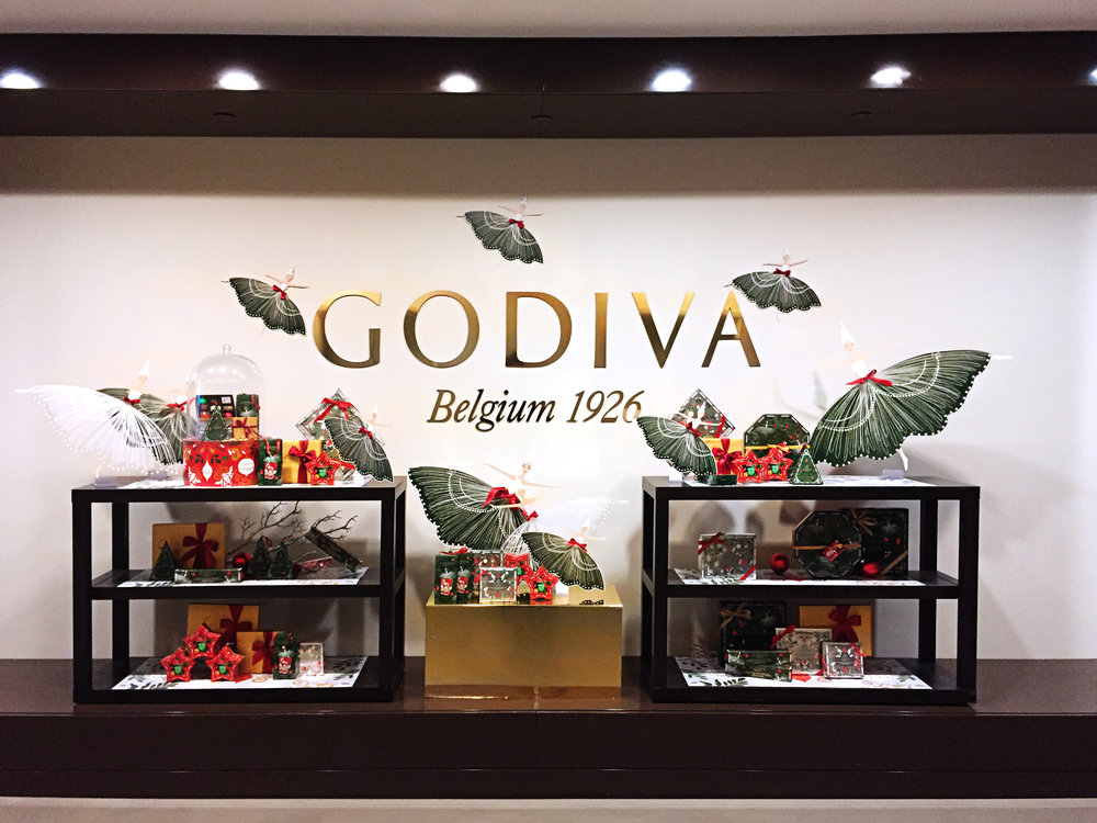 dinara mirtalipova for Godiva 2016