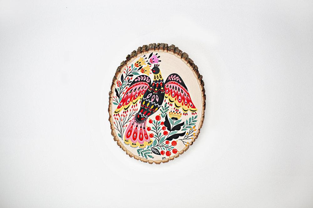 Dinara Mirtalipova Bird on Wood No3 B 72.jpg