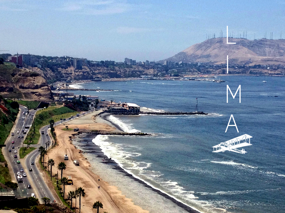 Lovely Lima. The coast, set high above the Pacific.  Photography by Chew Street.