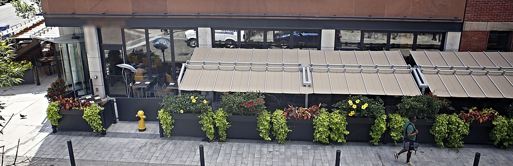 Cresta's charming marketside patio.  Photo: St. Lawrence BIA