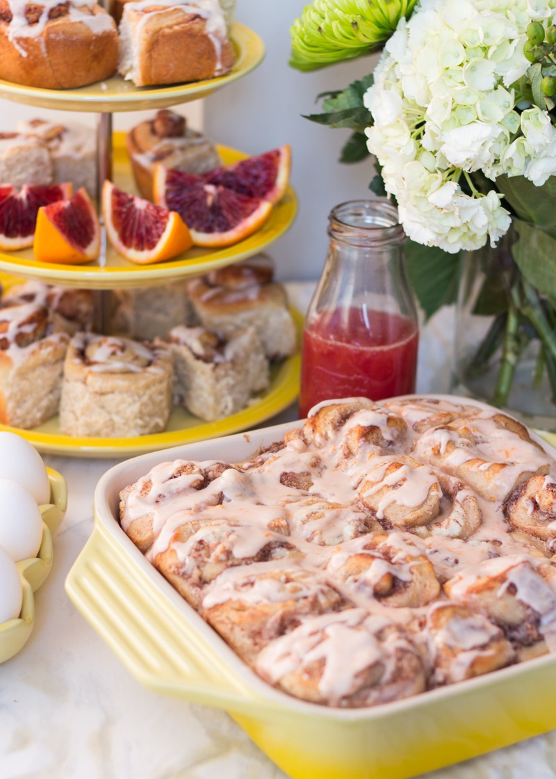 Blood Orange Ricotta Sweet Rolls by Lito Supply Co.