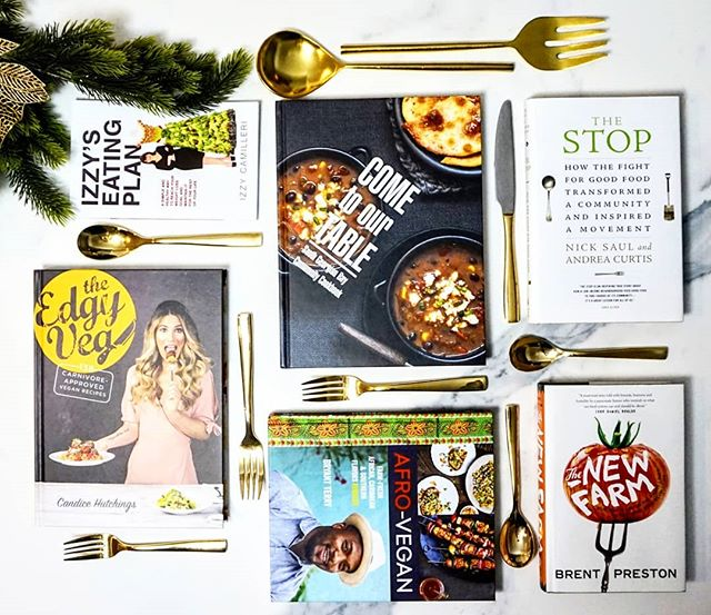"🎁Giveaway alert! 🎁 We picked our favourite cookbooks and culinary reads. From a vegan cookbook for carnivores to a books whose proceeds are donated to local food programs, we've got something for every foodie on your list. Even better, you can enter to win ""The Edgy Veg: Carnivore Approved Vegan Recipes"" by @edgyveg Head to Chew Street to win! Link in bio #foodiegiftguide"