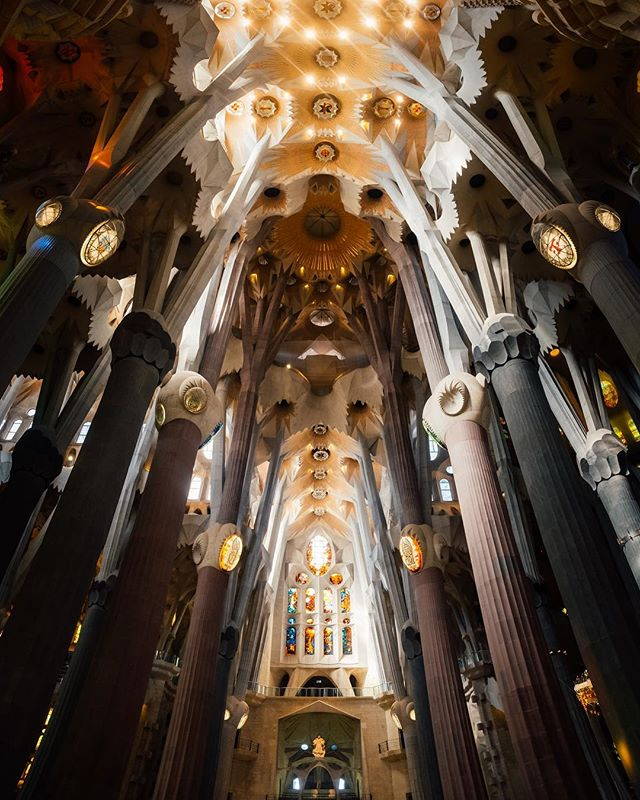 • La Sagrada Familia • _______________________________________ The most #beautiful piece of #architecture & #design ever conceived.