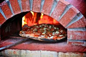 A look into our wood fired oven