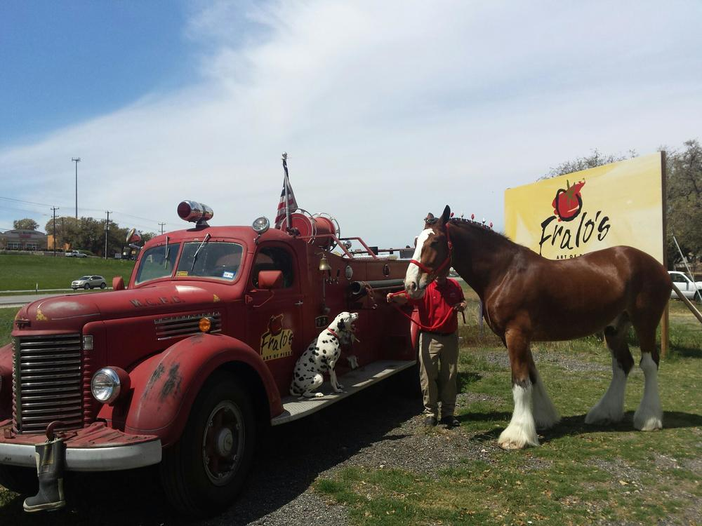A visit from our friends at Budweiser