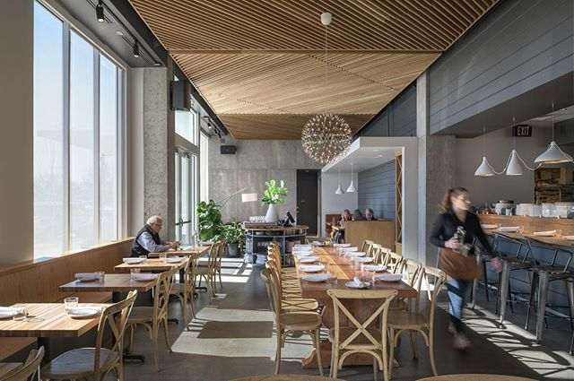 Family recipe sourdough pizza 🍕🔥. Love me some @the_wylder. Beautiful space by @holstarchitecture. @localconstruc 🙌. #boise #architecture #interiordesign #idaho