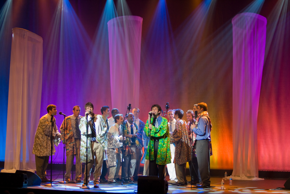 The Hullabahoos performing at The Paramount Theater, BSST XX, '08