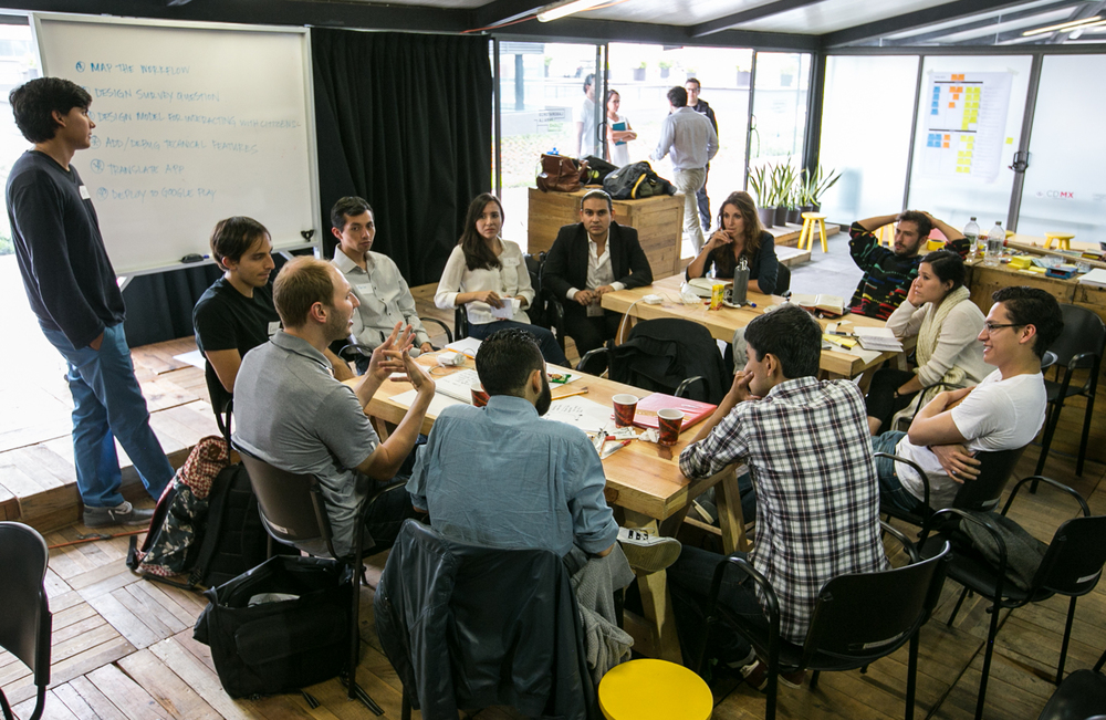 Workshop Mexico City | Photo by Joy Nuño