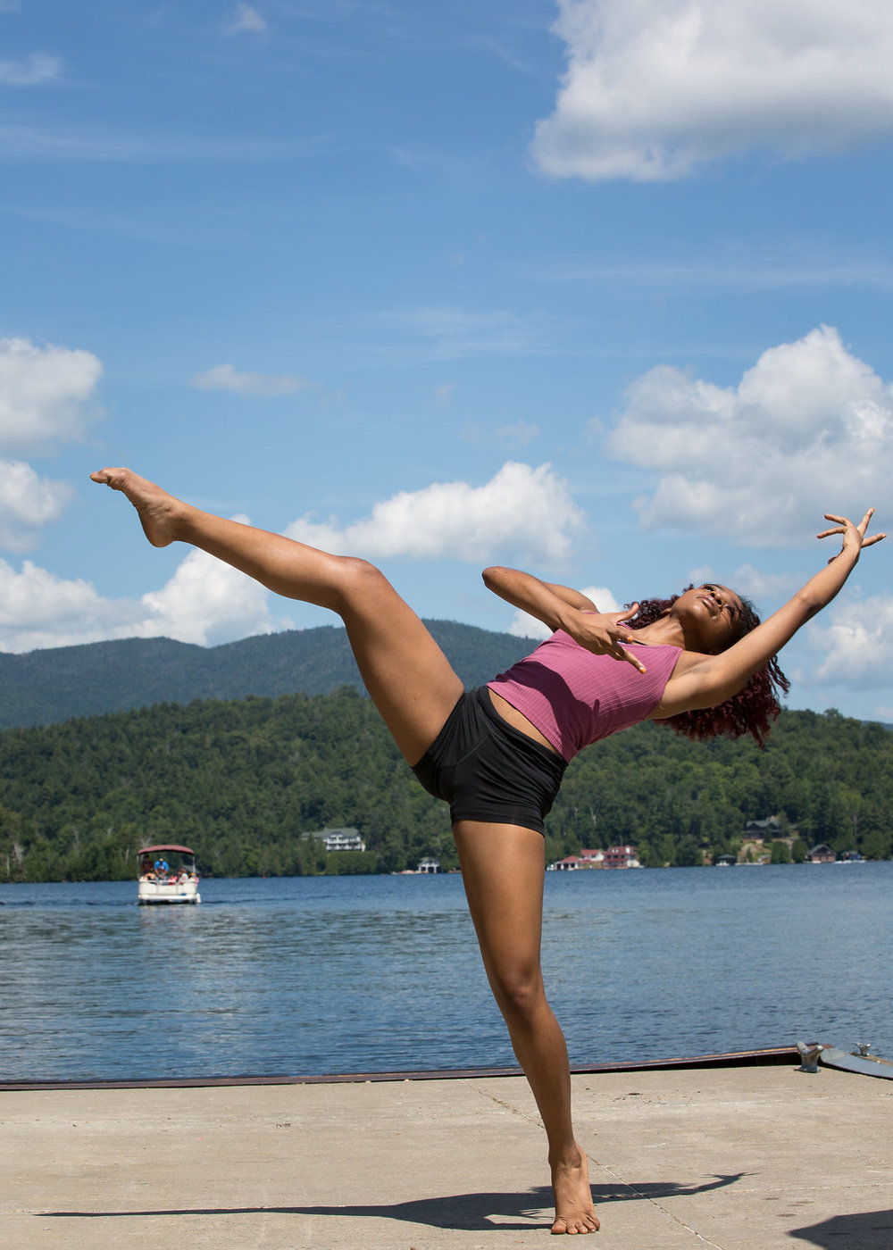 Perform - Perform at the end of the intensive for the Lake Placid Community.