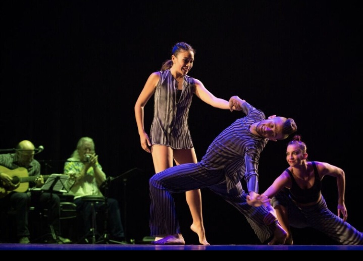 EMD Does Brubeck - EMD Does Brubeck is a choreographic exploration in true musical embodiment. Dance pieces set to the music you know and love will have you dancing in your seats. Energetic, crowd pleasing evening length piece set to live music featuring Chris Brubeck's Band Triple Play.