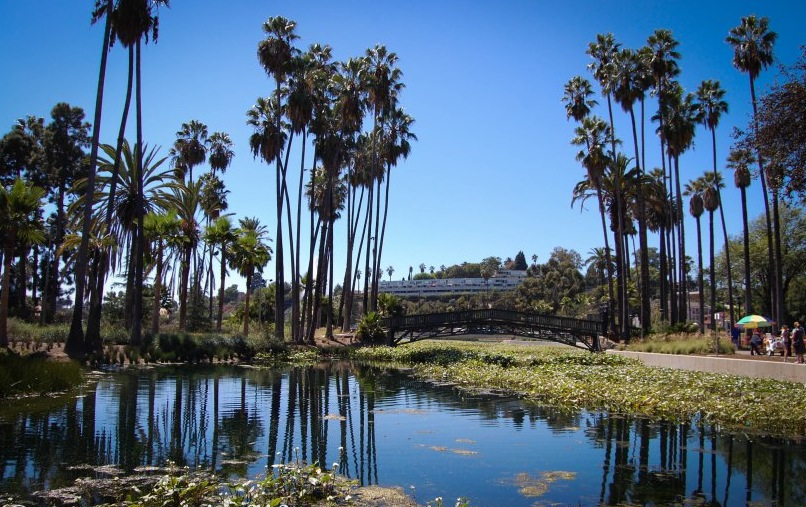 Echo Park Lake is a romantic backdrop to this exciting and lively neighborhood.