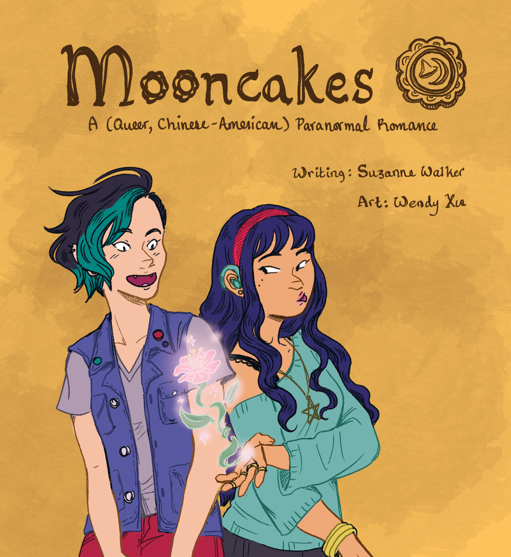 """Mooncakes."" Art by Wendy Xu. Writing by Suzanne Walker."