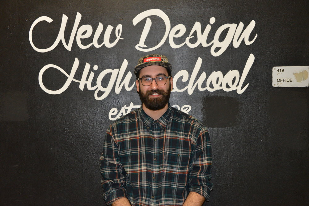 Andreas Stavropoulos                         9th Grade English Teacher               AndreasStavropoulous@newdesign