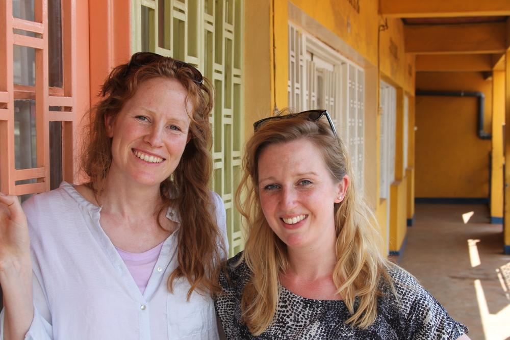 Georgie and Susannah