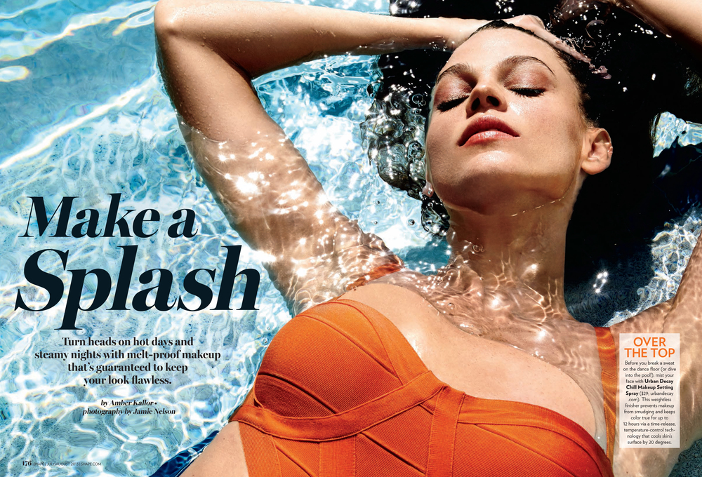 Make a Splash, July 2013
