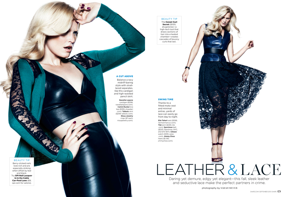 Leather & Lace, September 2013