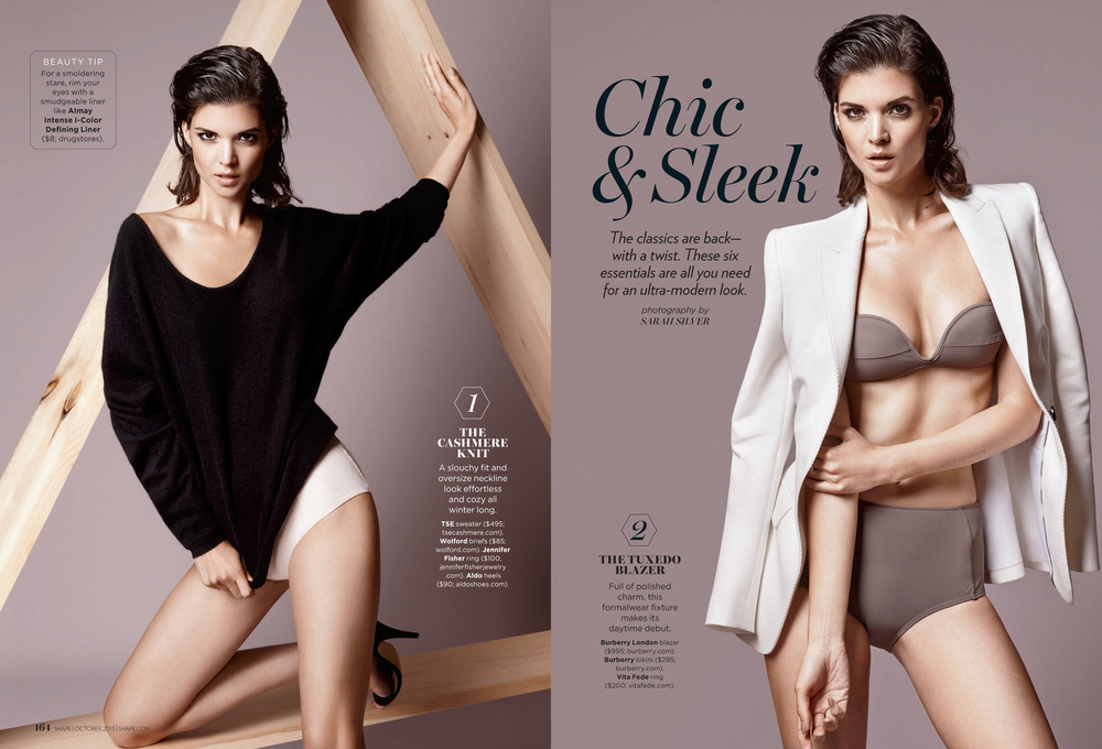 Chic & Sleek, October 2013