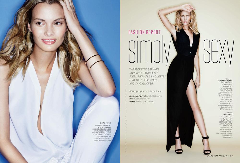 Simply Sexy, April 2014