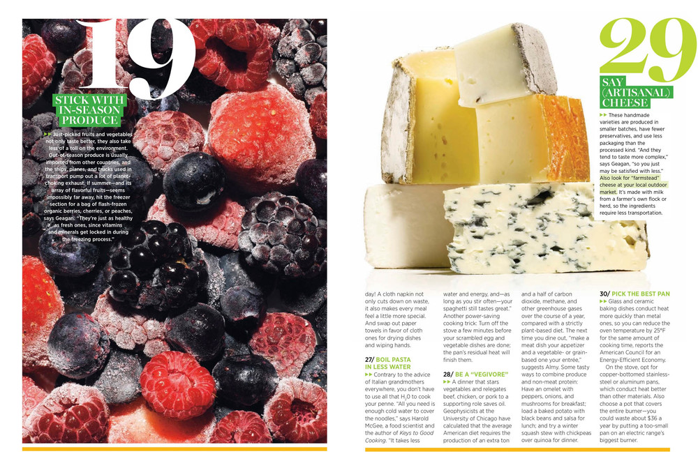 30 Ways to Green Your Plate, November 2011